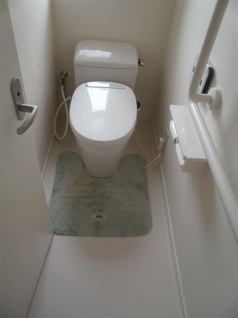 段差解消して1Fトイレ改装