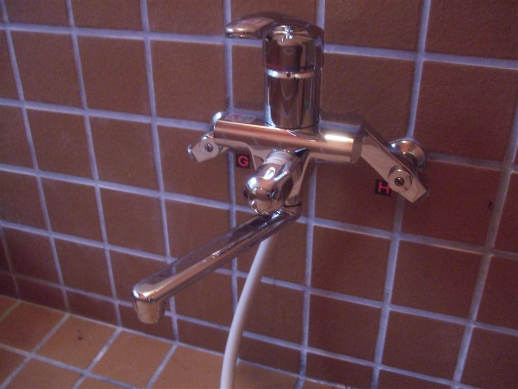中古別荘に暮らそうと思います。水栓関係