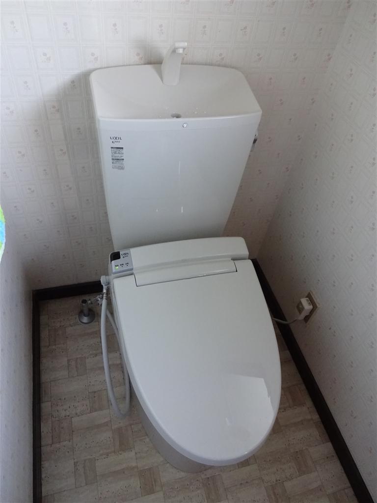 2Fトイレもこの際!