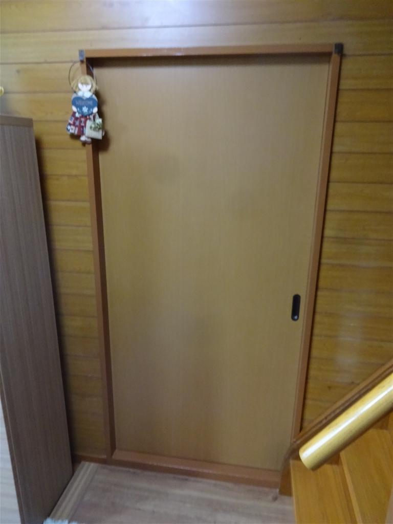 和室の入口扉取替えて!何だか線が・・・