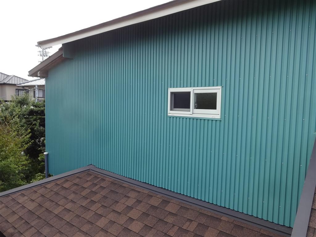 えいごのひろば 改装工事 2F 北側廊下 窓