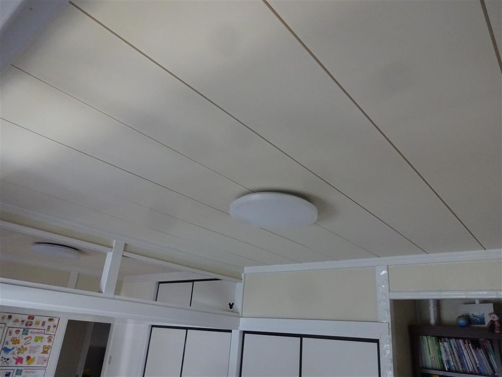 えいごのひろば 改装工事 教室 天井