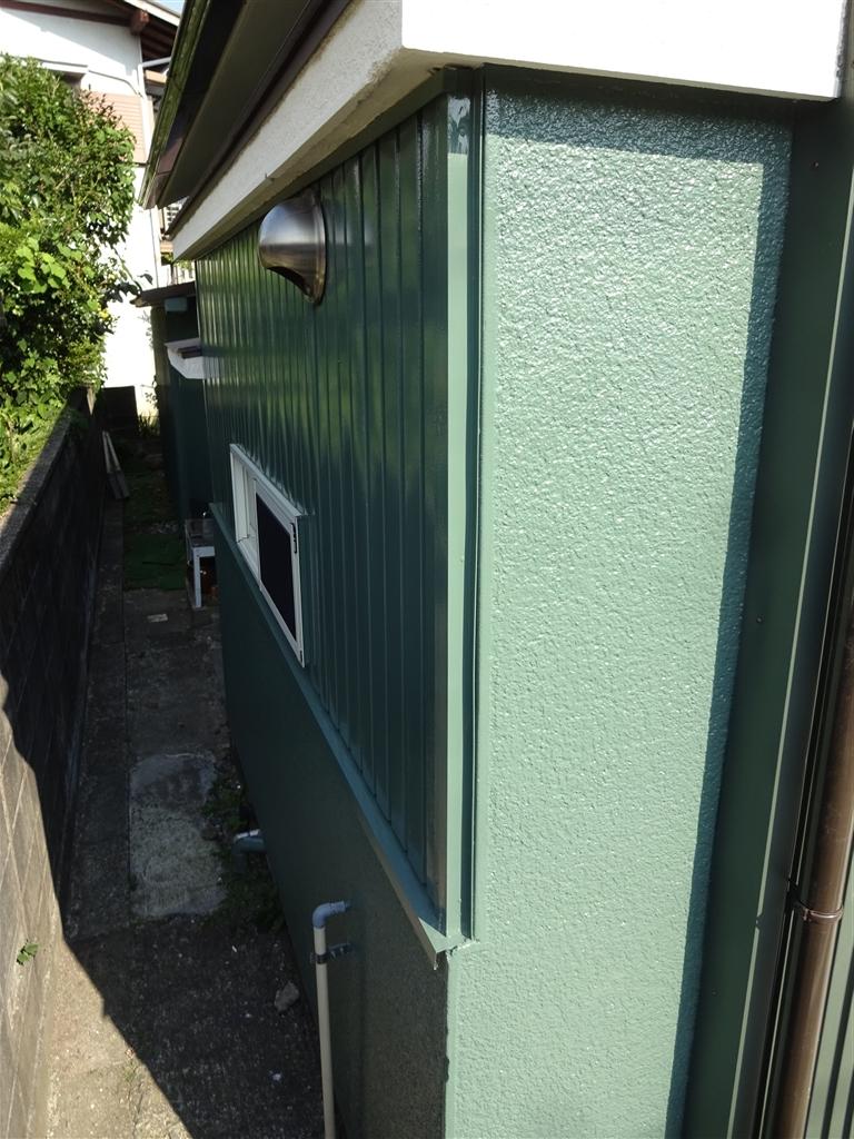 えいごのひろば 改装工事 1F 北側 外壁塗装
