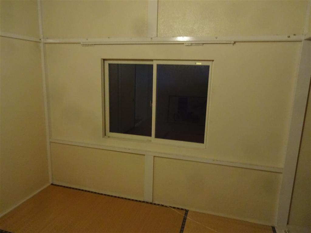 えいごのひろば 改装工事 2F 南側 和室窓 室内側