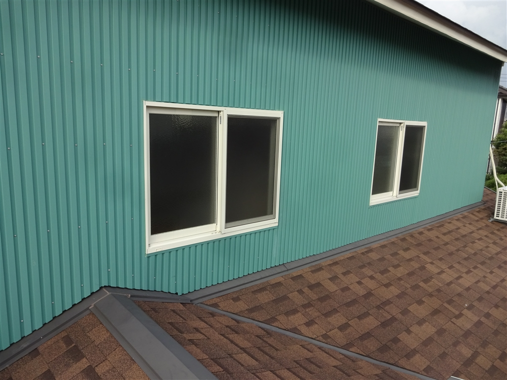えいごのひろば 改装工事 2F 南側 窓 全体