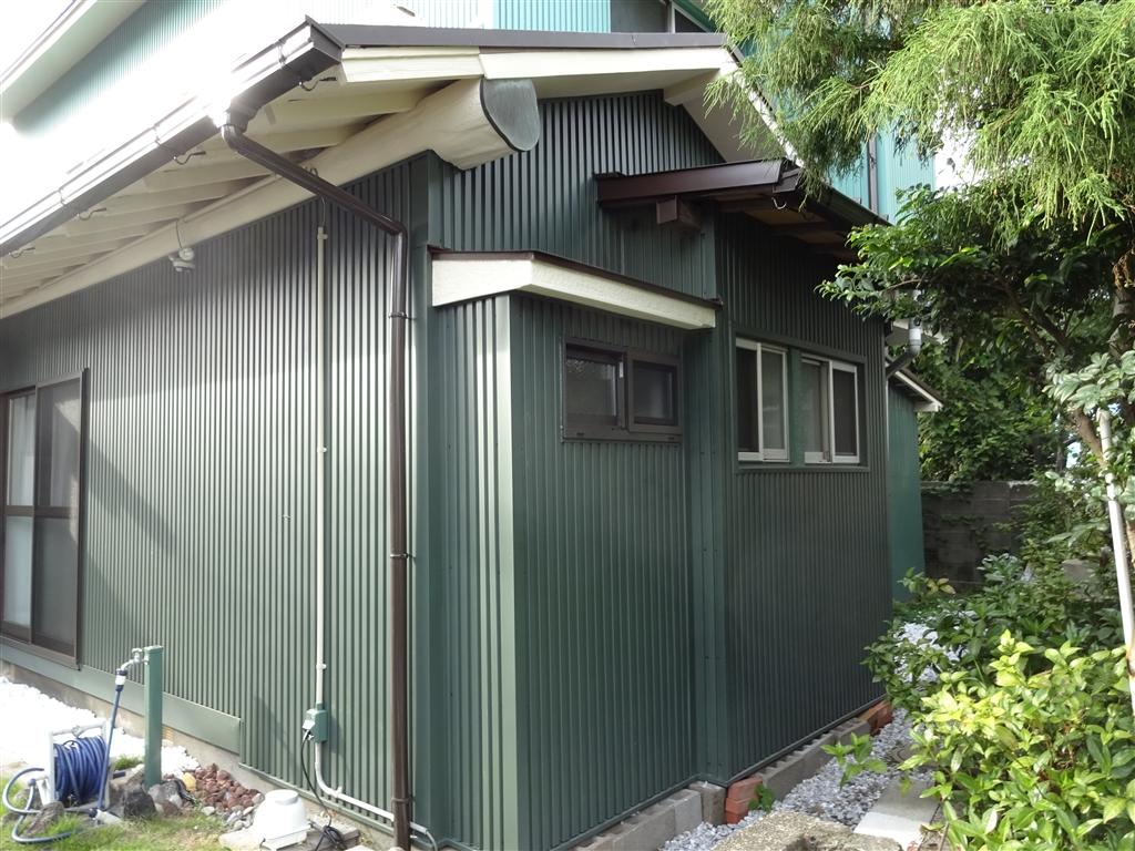 えいごのひろば 改装工事 東側 洗面 外壁&窓