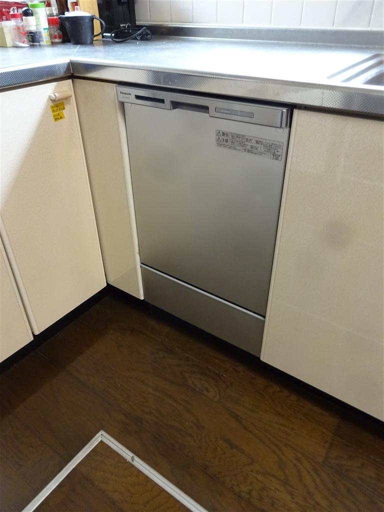 これがないと・・・食洗機取替え