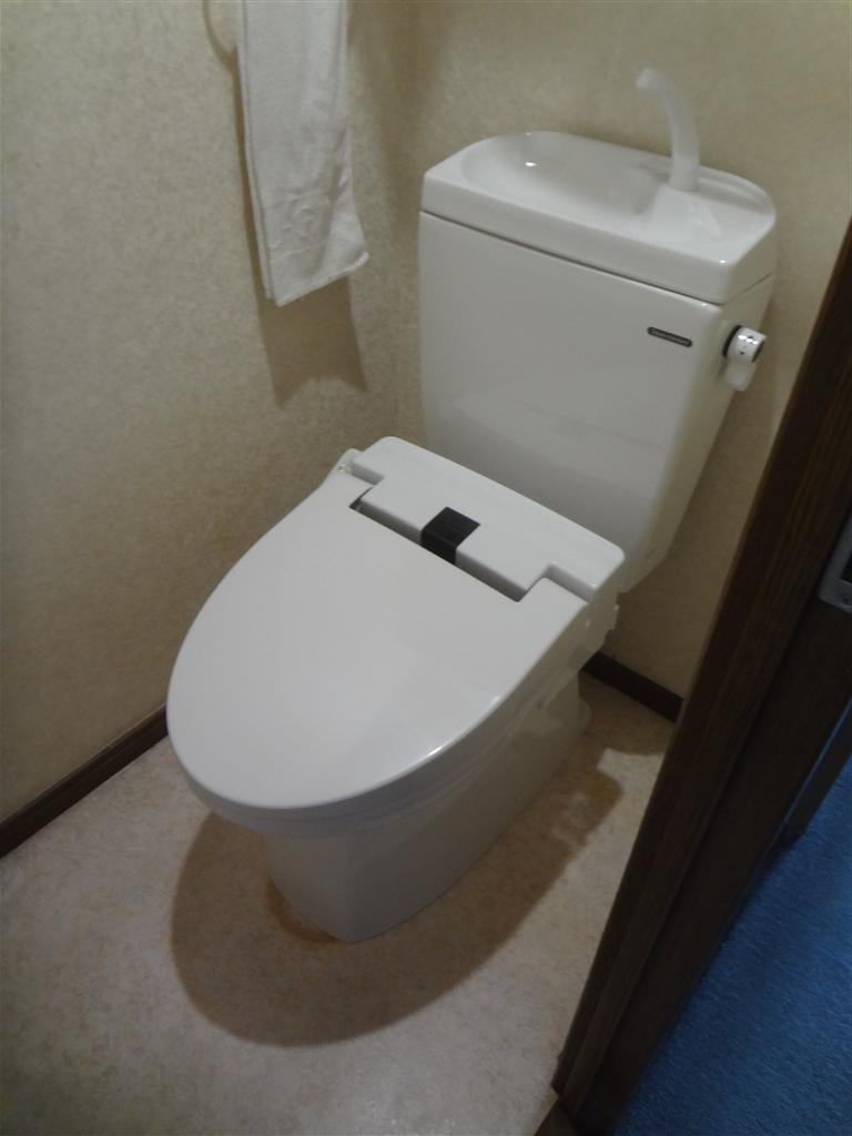 マンショントイレ故障 部品がないようなんで・・・