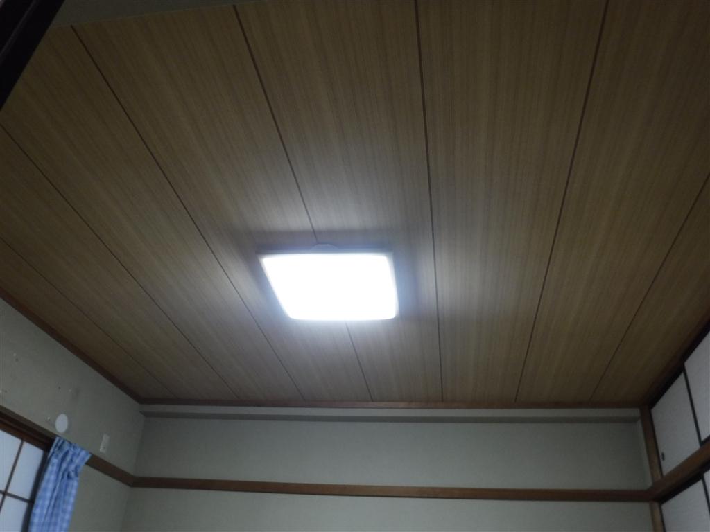 マンションの和室天井が急に垂れ下がって・・・天井改装工事