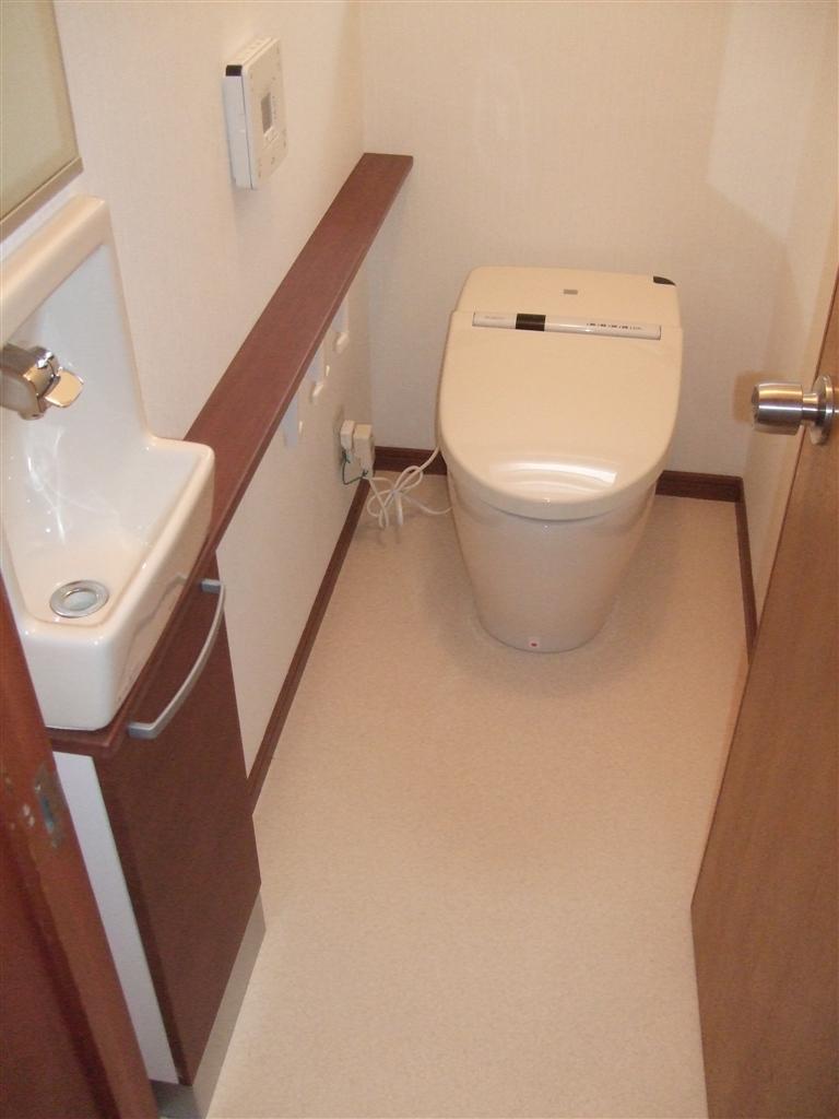 家族が集まれる家に!トイレ