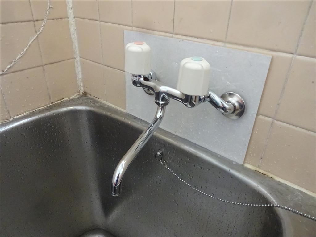 浴槽水栓だけ水圧が足りないので・・・やっぱり別の物に交換