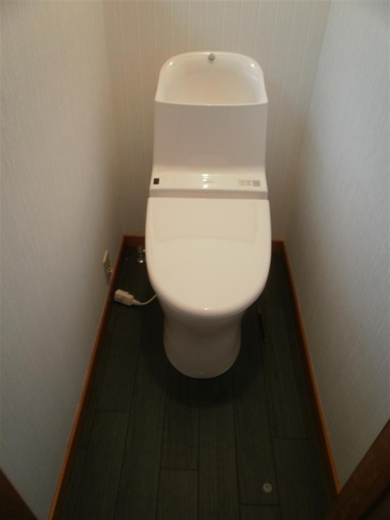 1Fトイレ改装 GG800 イイです♪