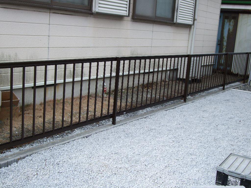 中古住宅購入♪できる範囲で改装!庭・フェンス