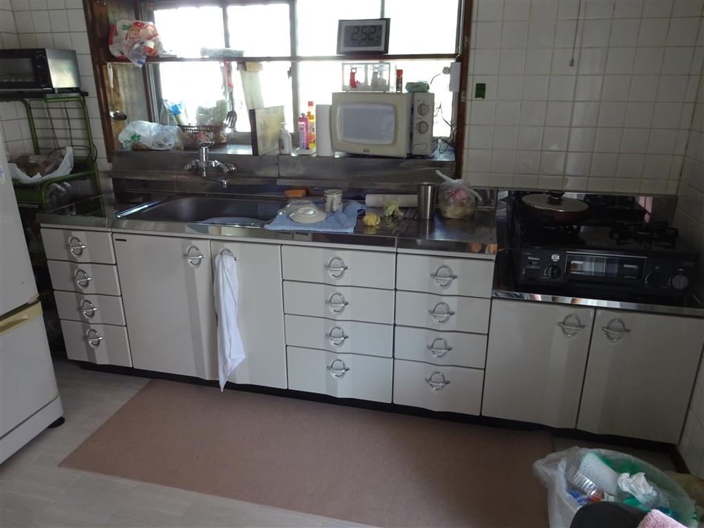この家で暮らしていくしか・・・キッチン 1回目
