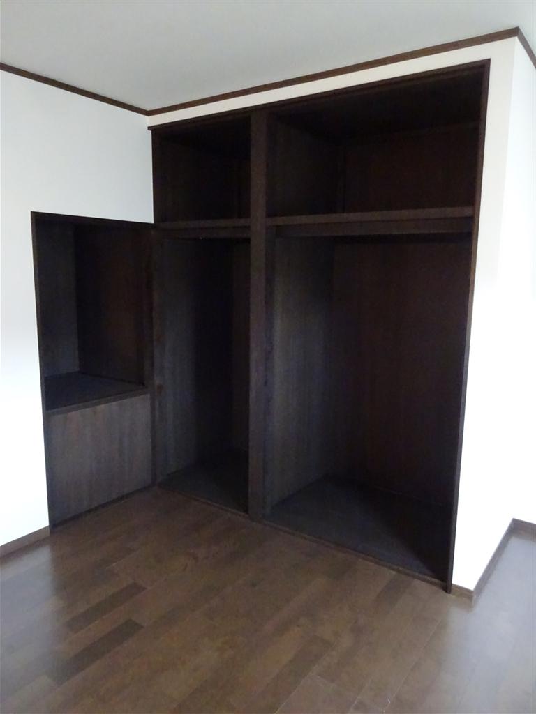 この家で暮らしていくしか・・・ 2Fの部屋を1つに!収納部分