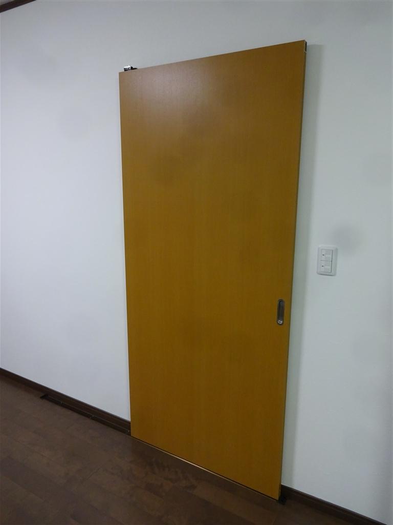 この家で暮らしていくしか・・・ 2Fの部屋を1つに!入口扉