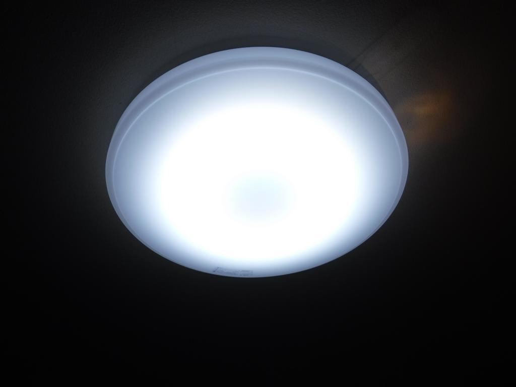 リビングの照明をLEDシーリングタイプに!