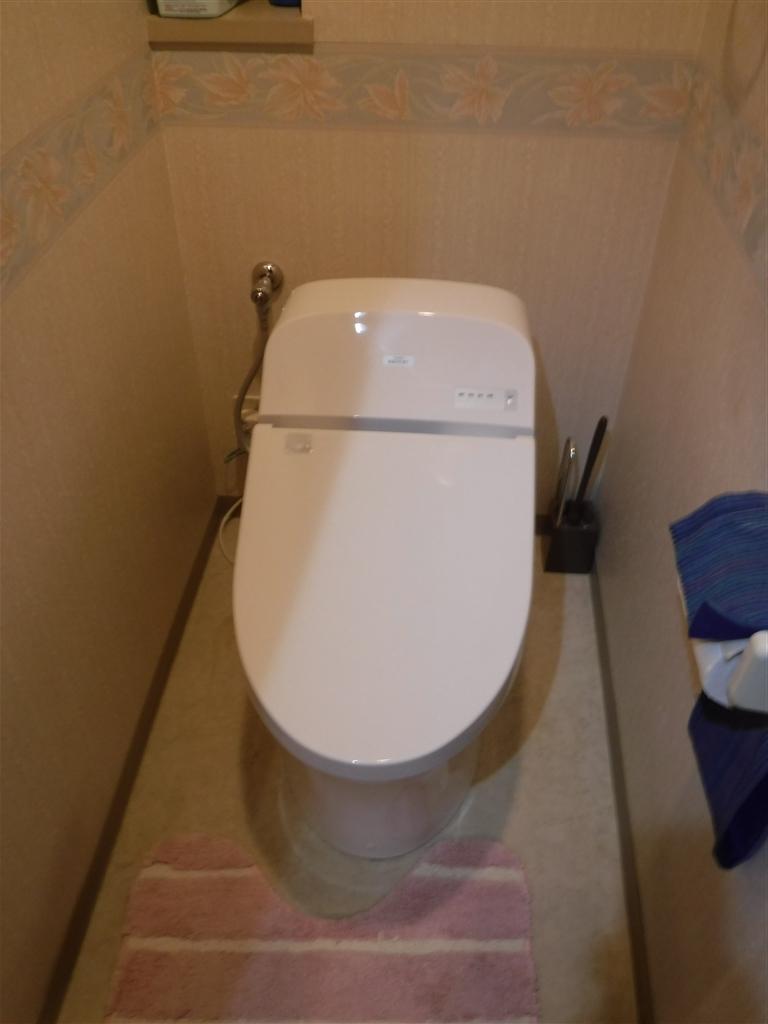 マンションの5F スマートなトイレを!