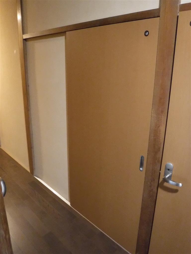 この家で暮らしていくしか・・・ やっぱり脱衣場改装!入口扉