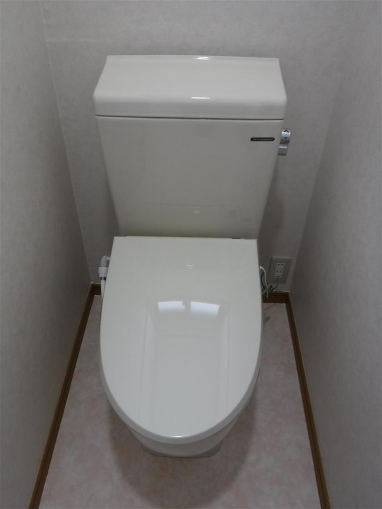 父の退院後には・・・!トイレ介護リフォーム ティモニF