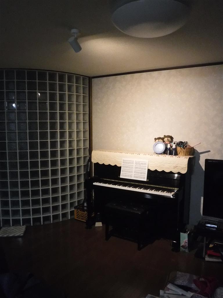 ピアノ♪照明お願いします。