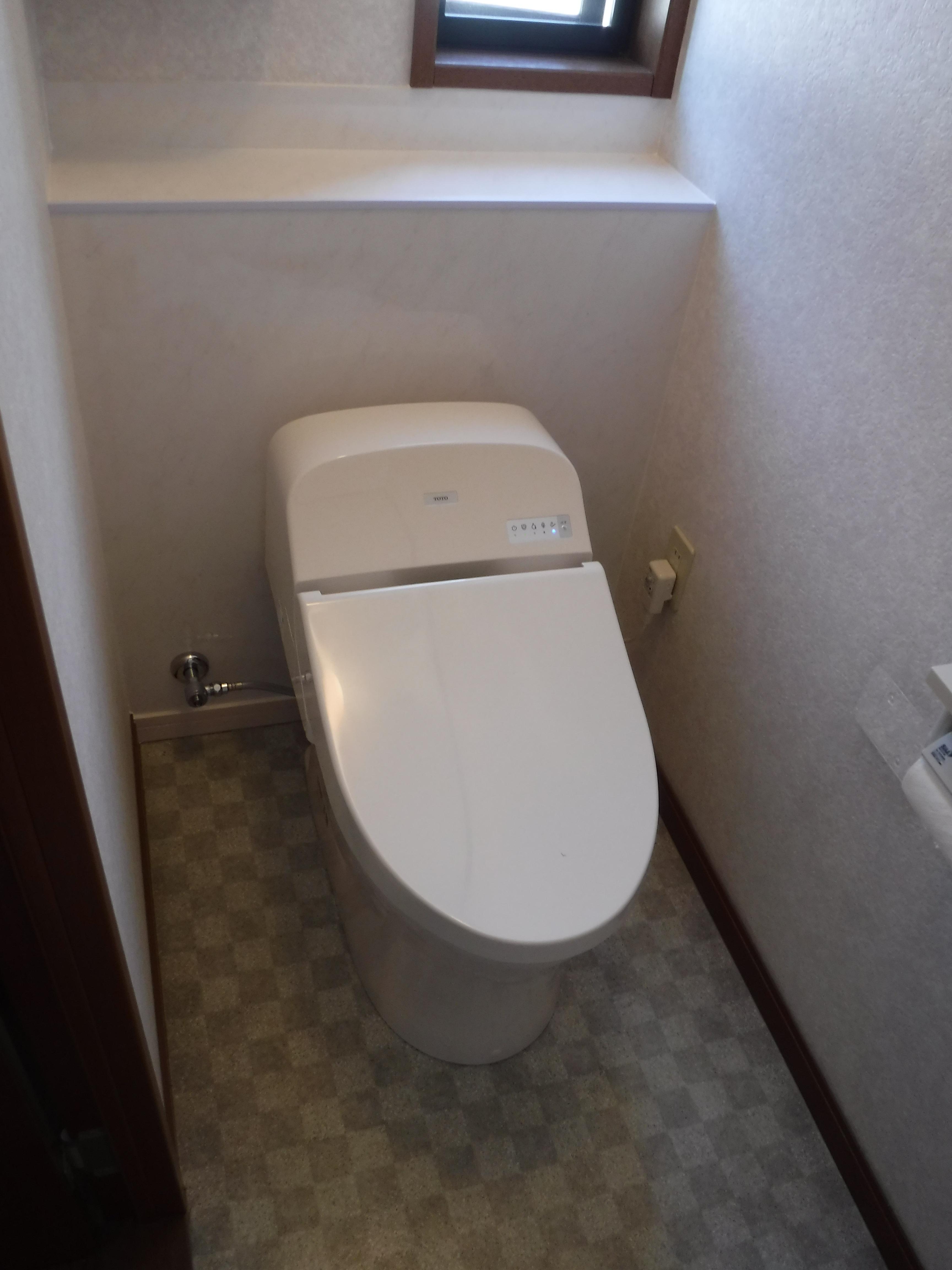 ハウスメーカーのオリジナルトイレ 一般のトイレでは?A