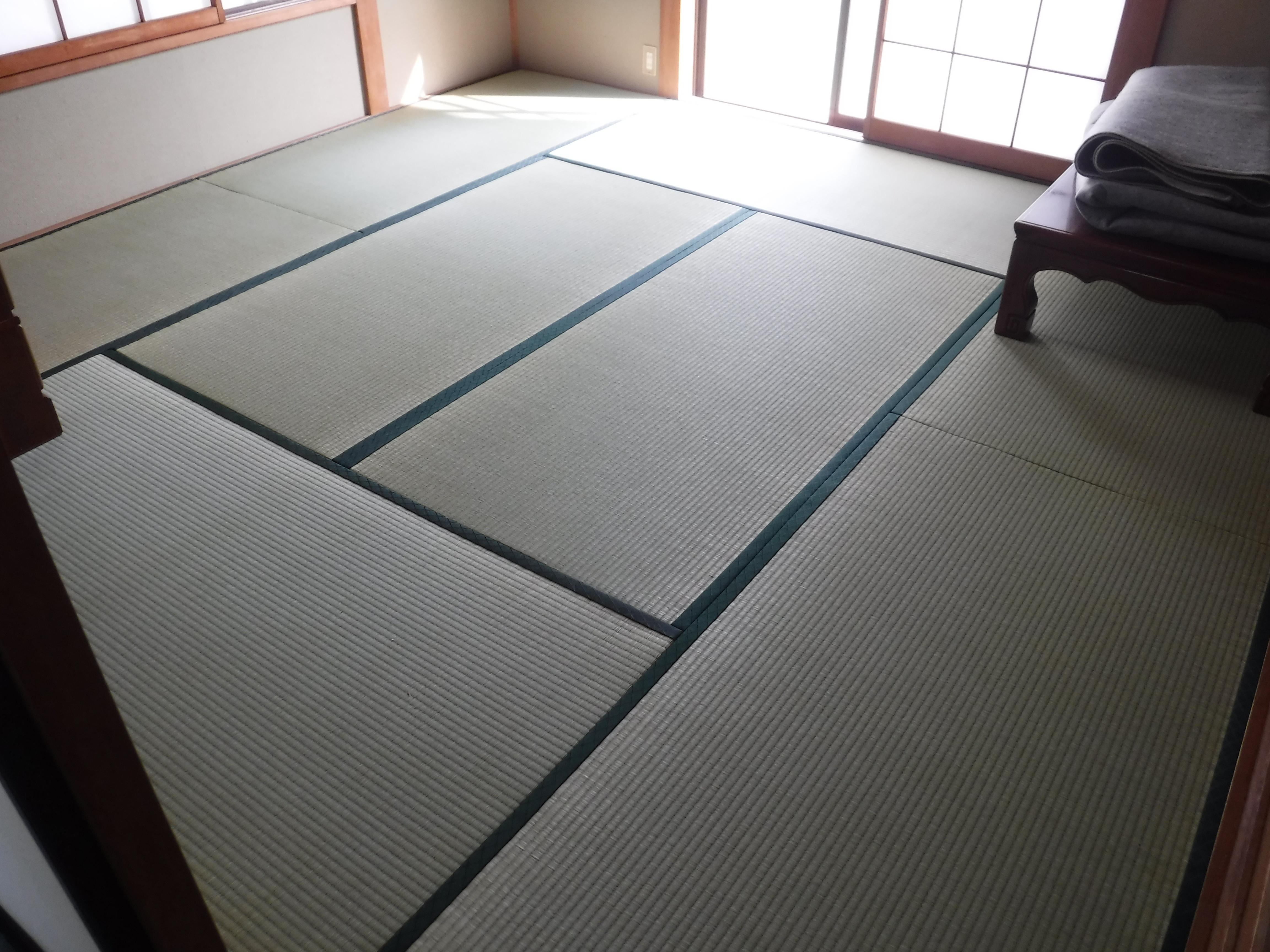 この機会に1F和室畳を表替え♪