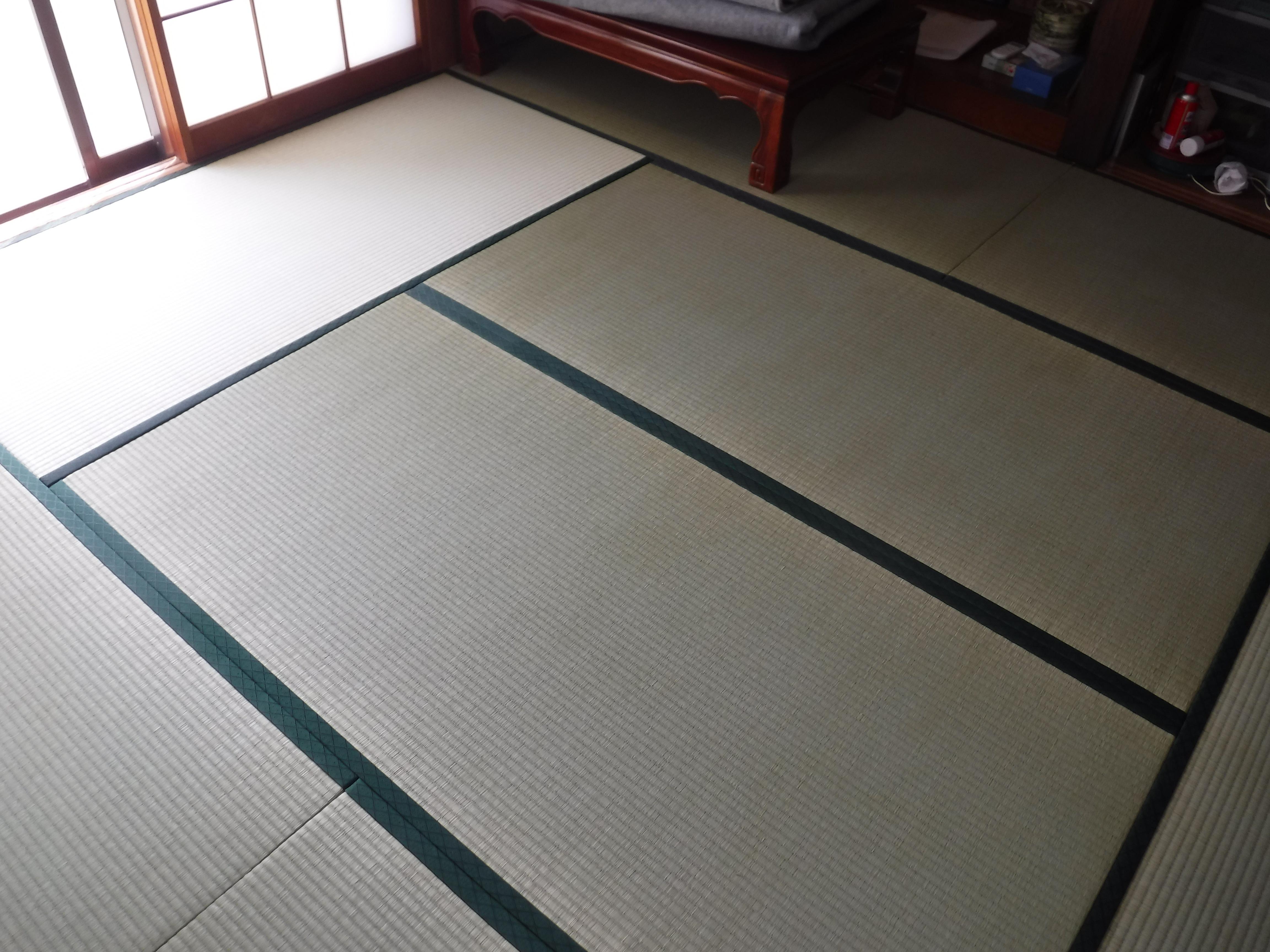 この機会に2F和室畳を表替え♪