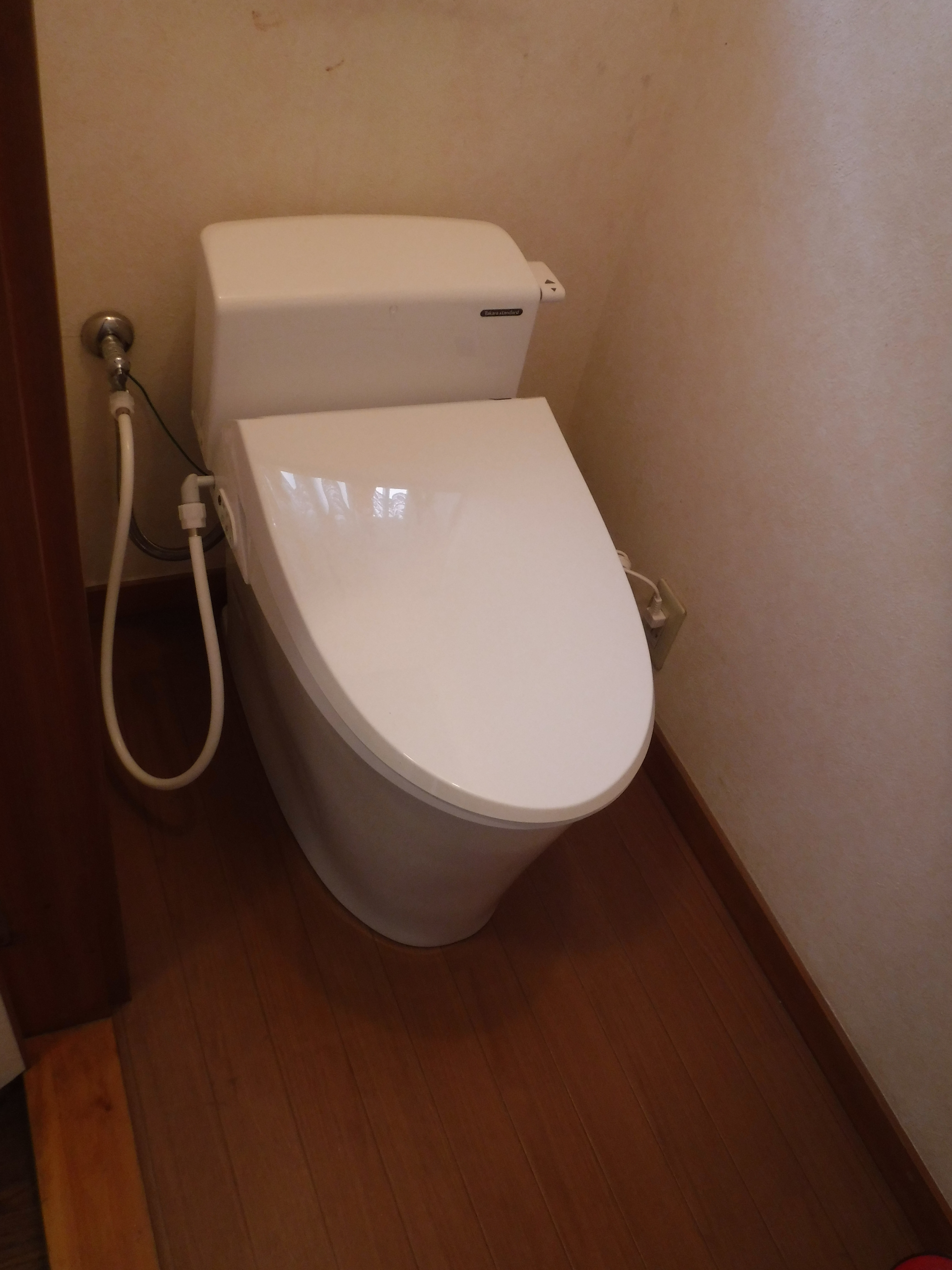 トイレのタンクが割れていて漏水・・・!! ティモニU