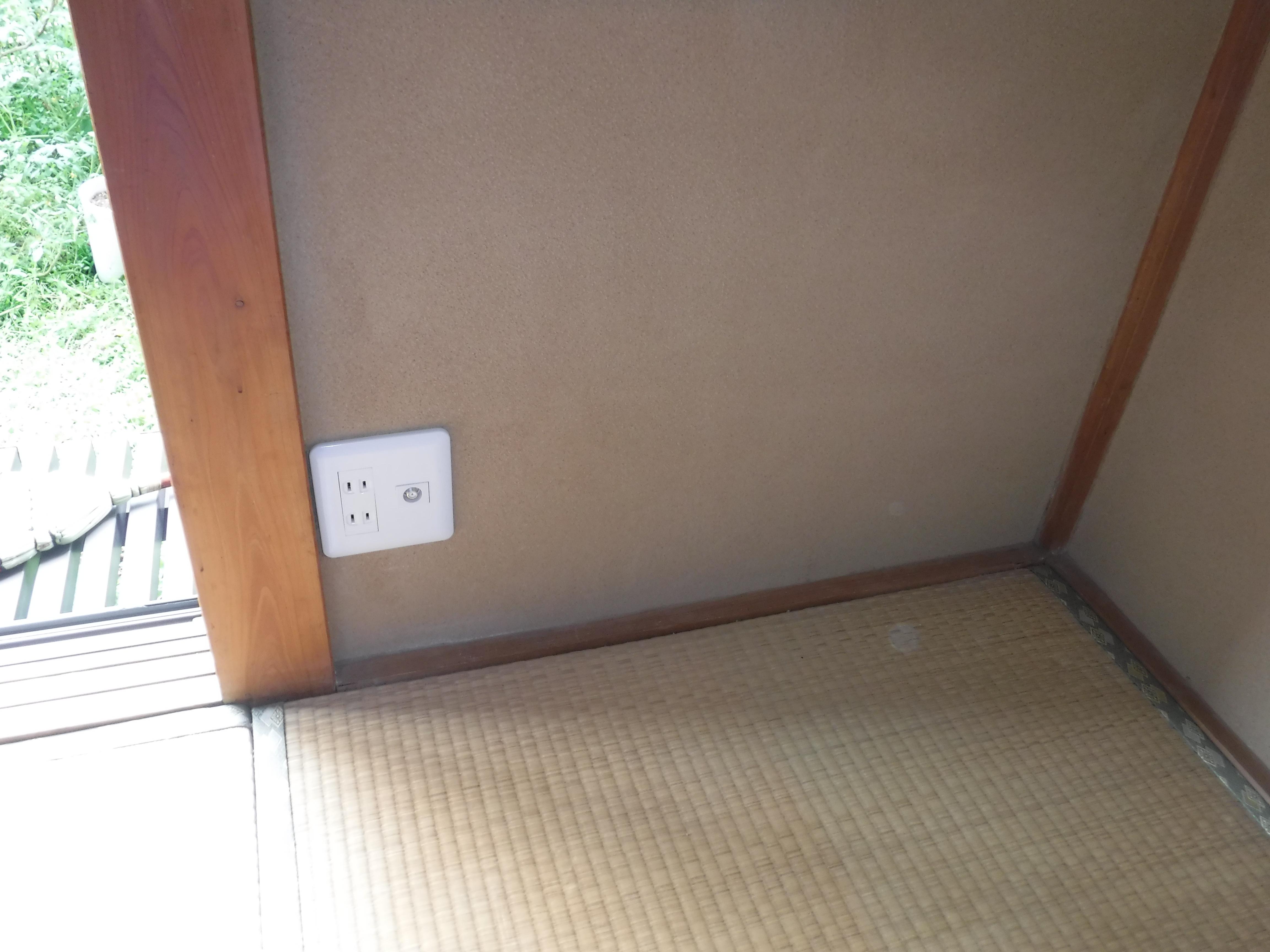この部屋にTVアンテナを♪