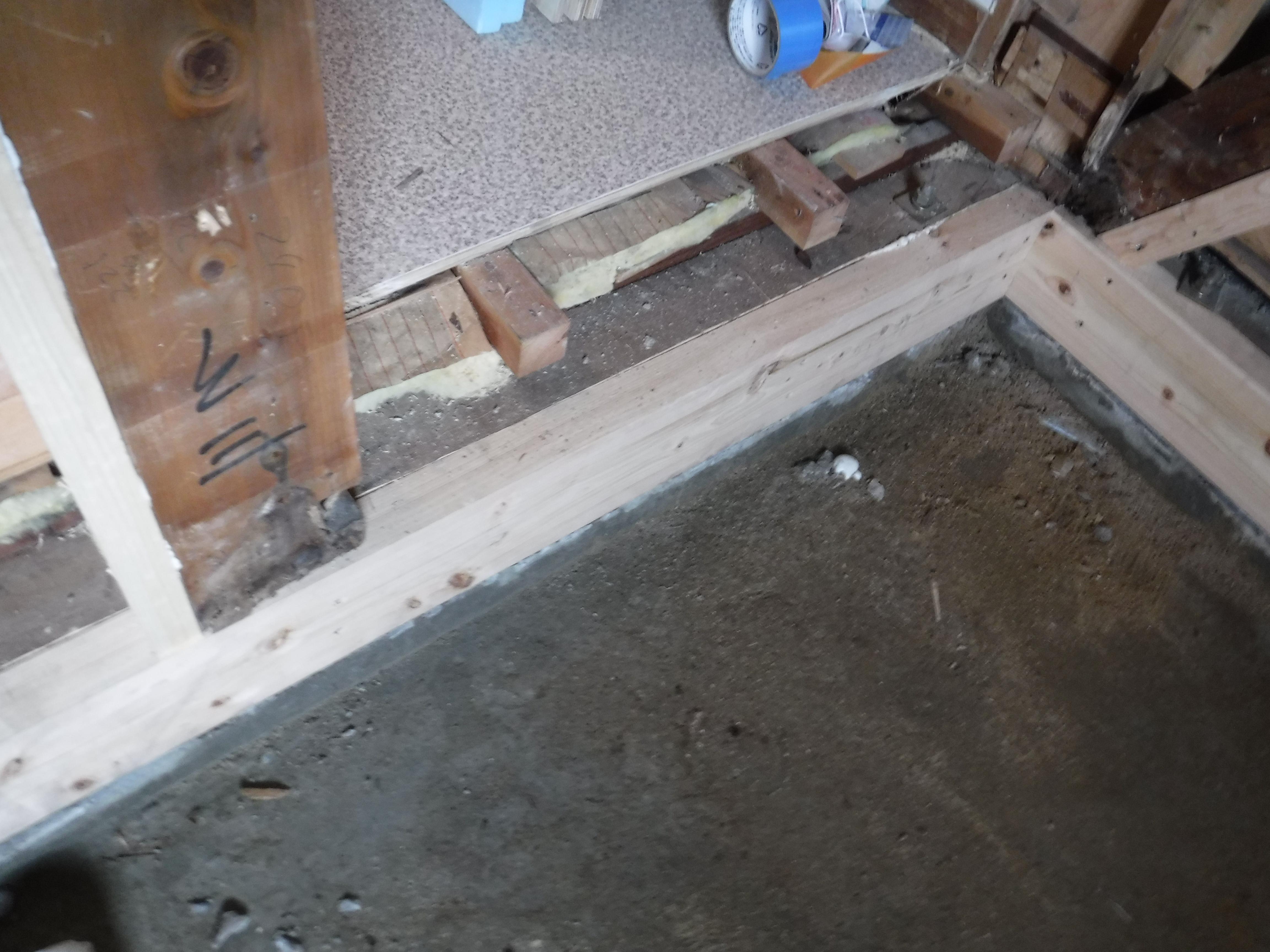 大きなお風呂のままで改装工事 予測できていた緊急工事