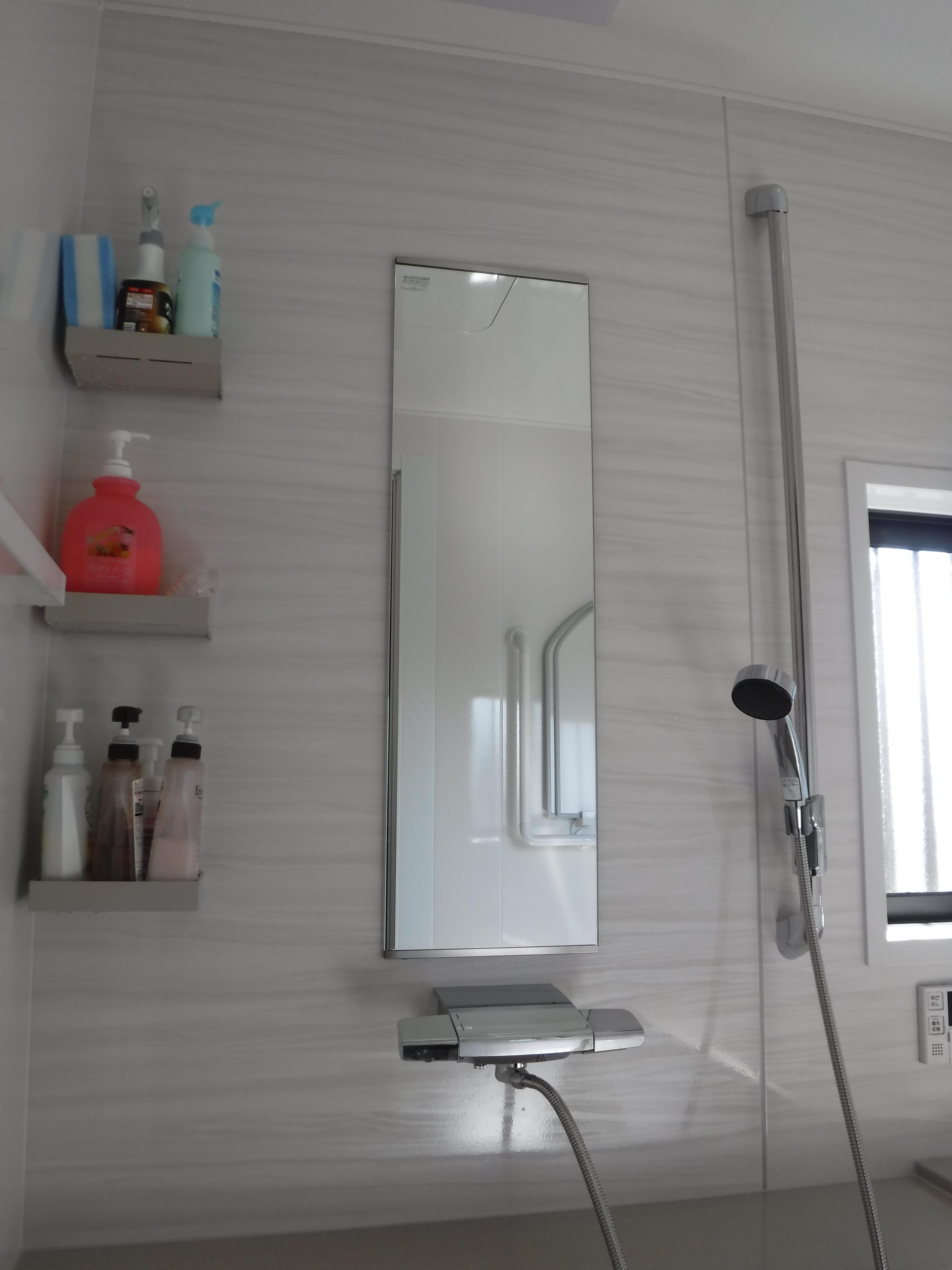 大きなお風呂のままで改装工事 洗い場