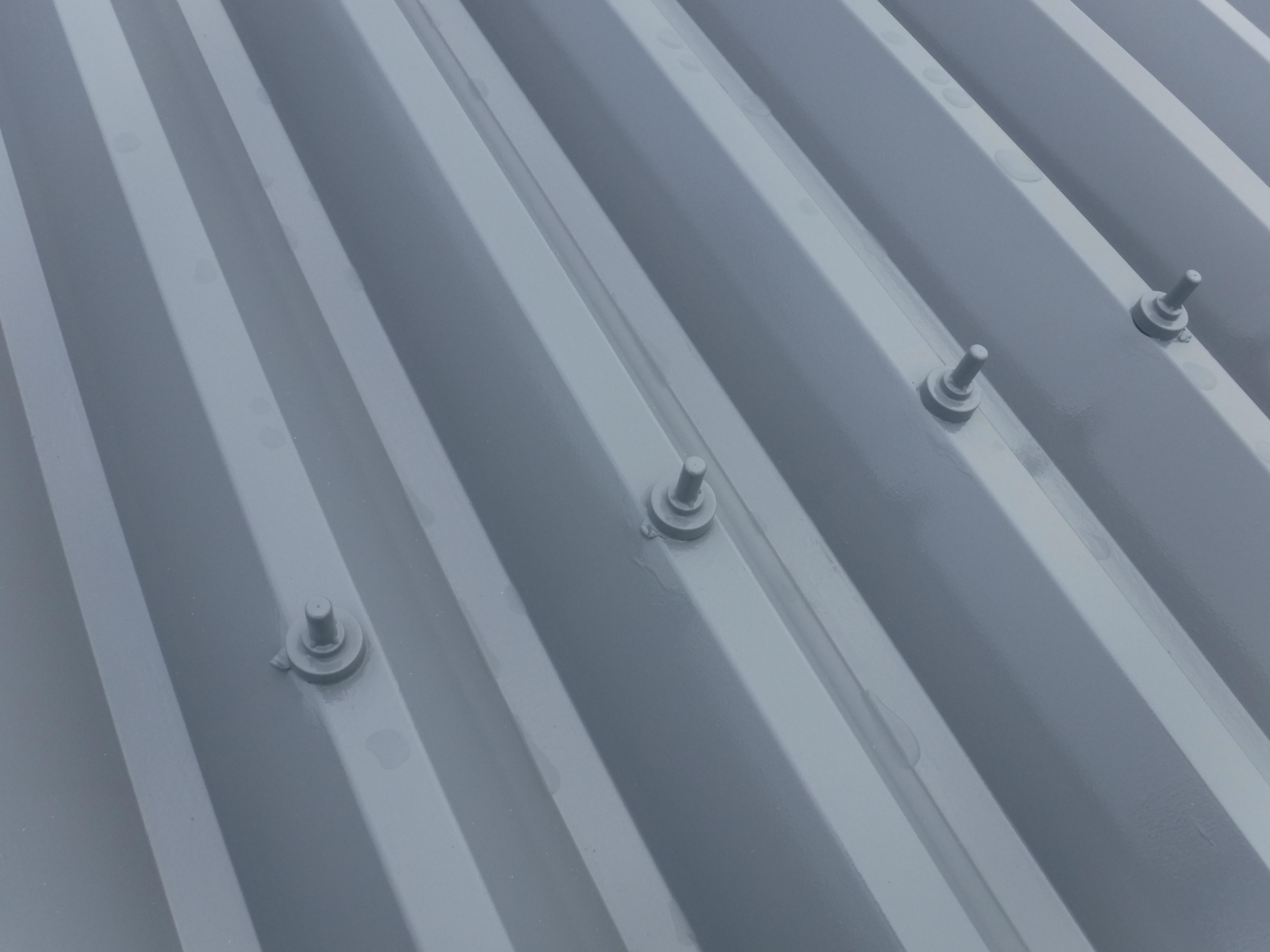 アパート折半屋根 テンキャップ