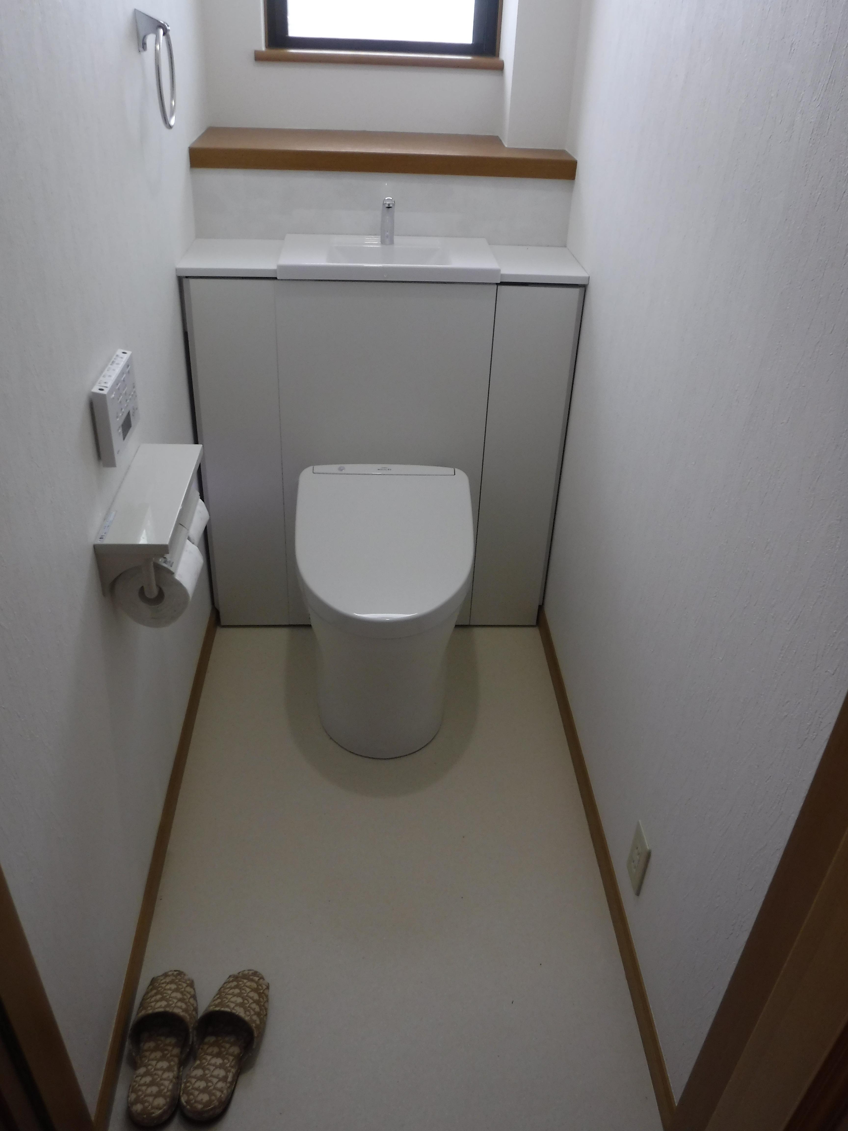 全く違うトイレにします♪1F