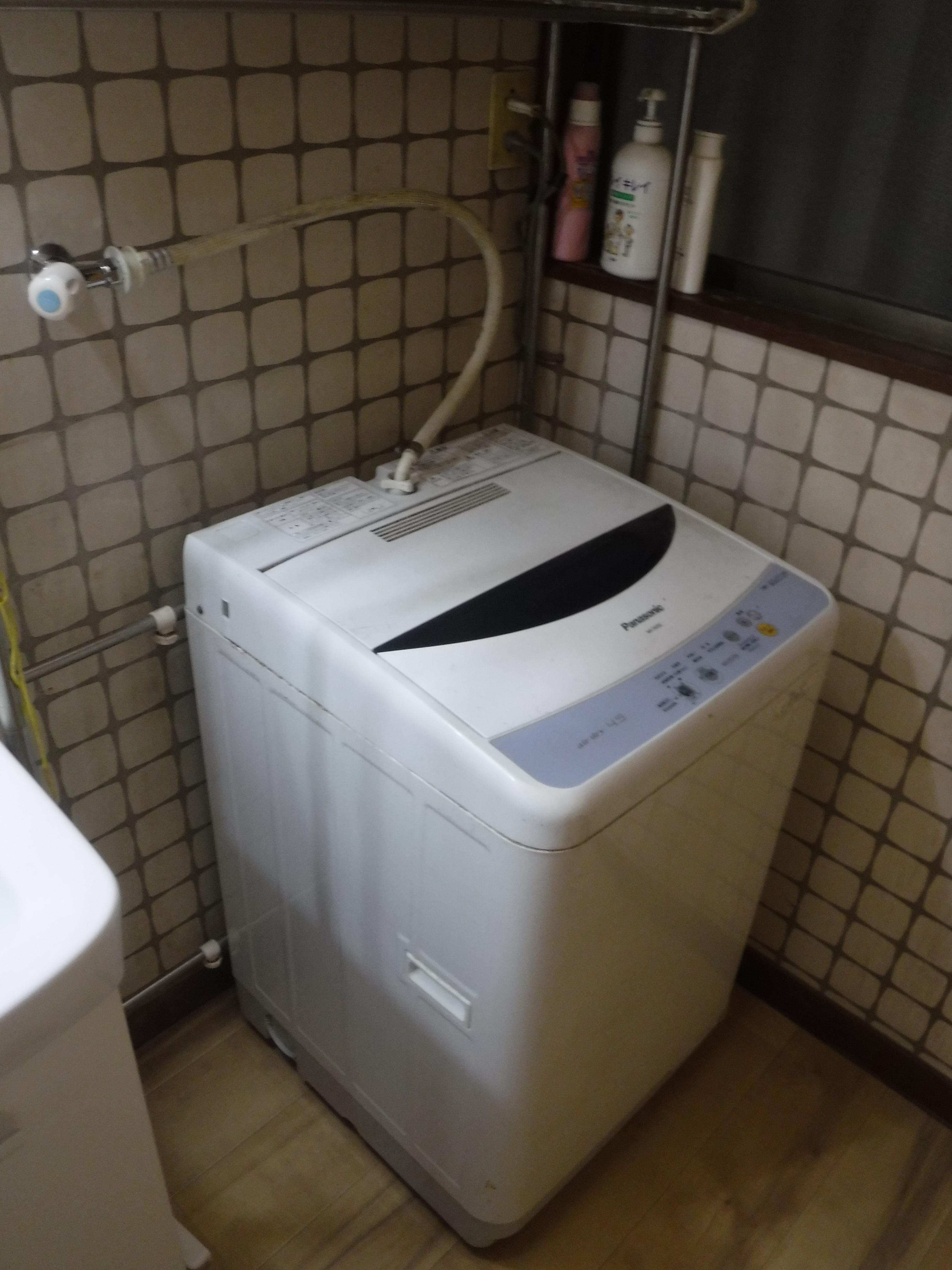 介護保険を活用して改装工事 洗濯機置場