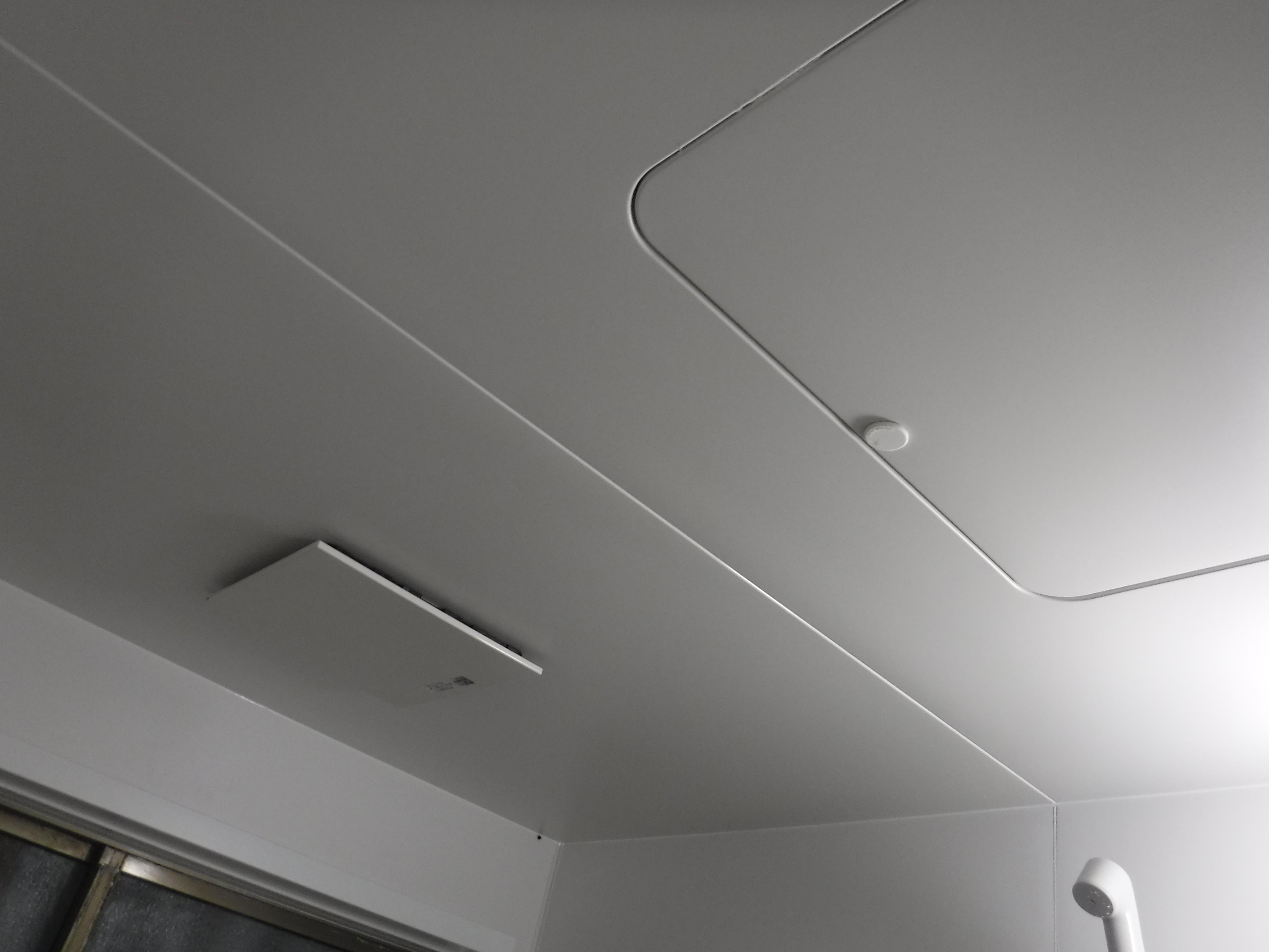 介護保険を活用して改装工事 浴室 BW1216 天井・換気扇