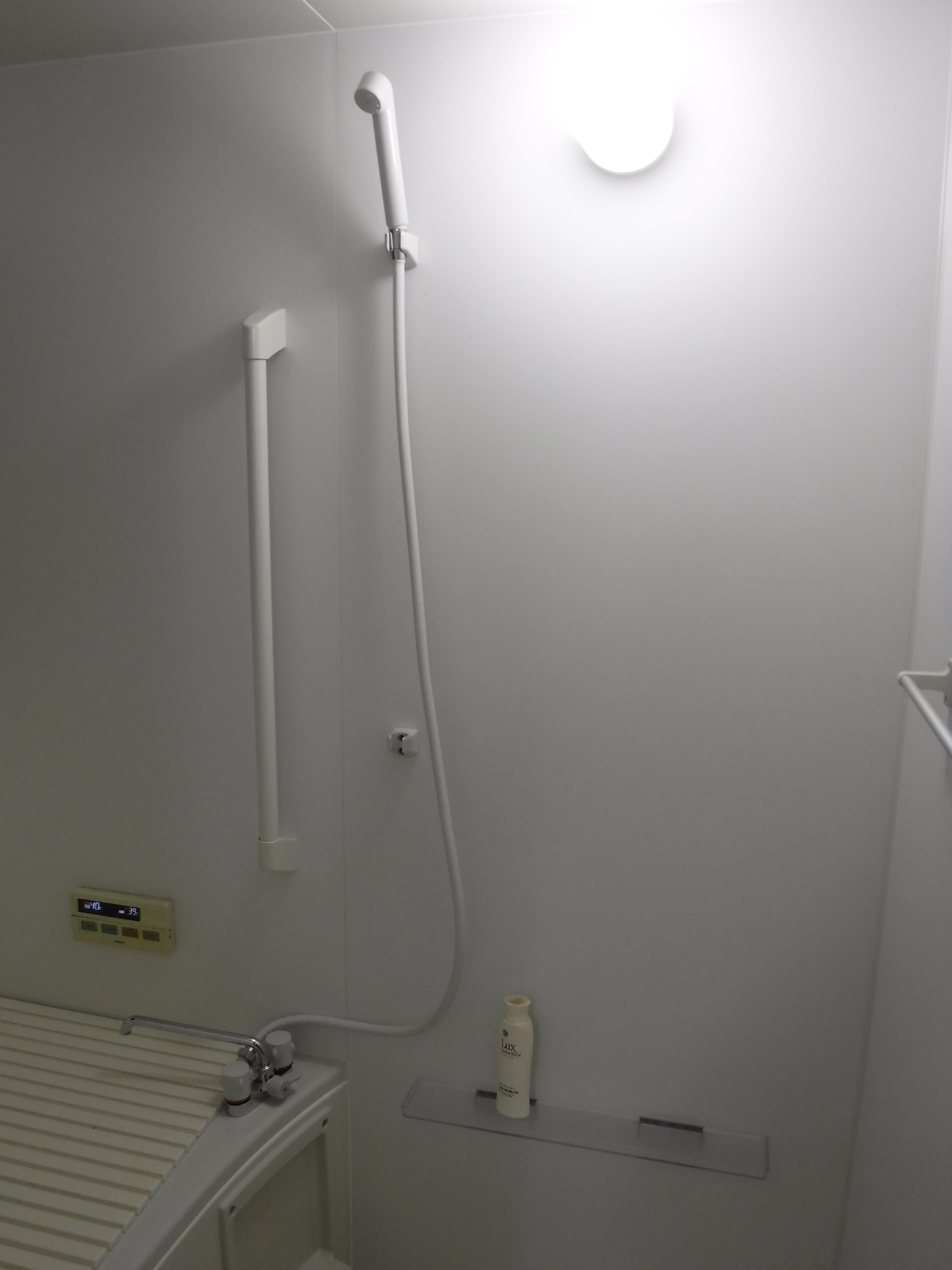 介護保険を活用して改装工事 浴室 BW1216 シャワー水栓