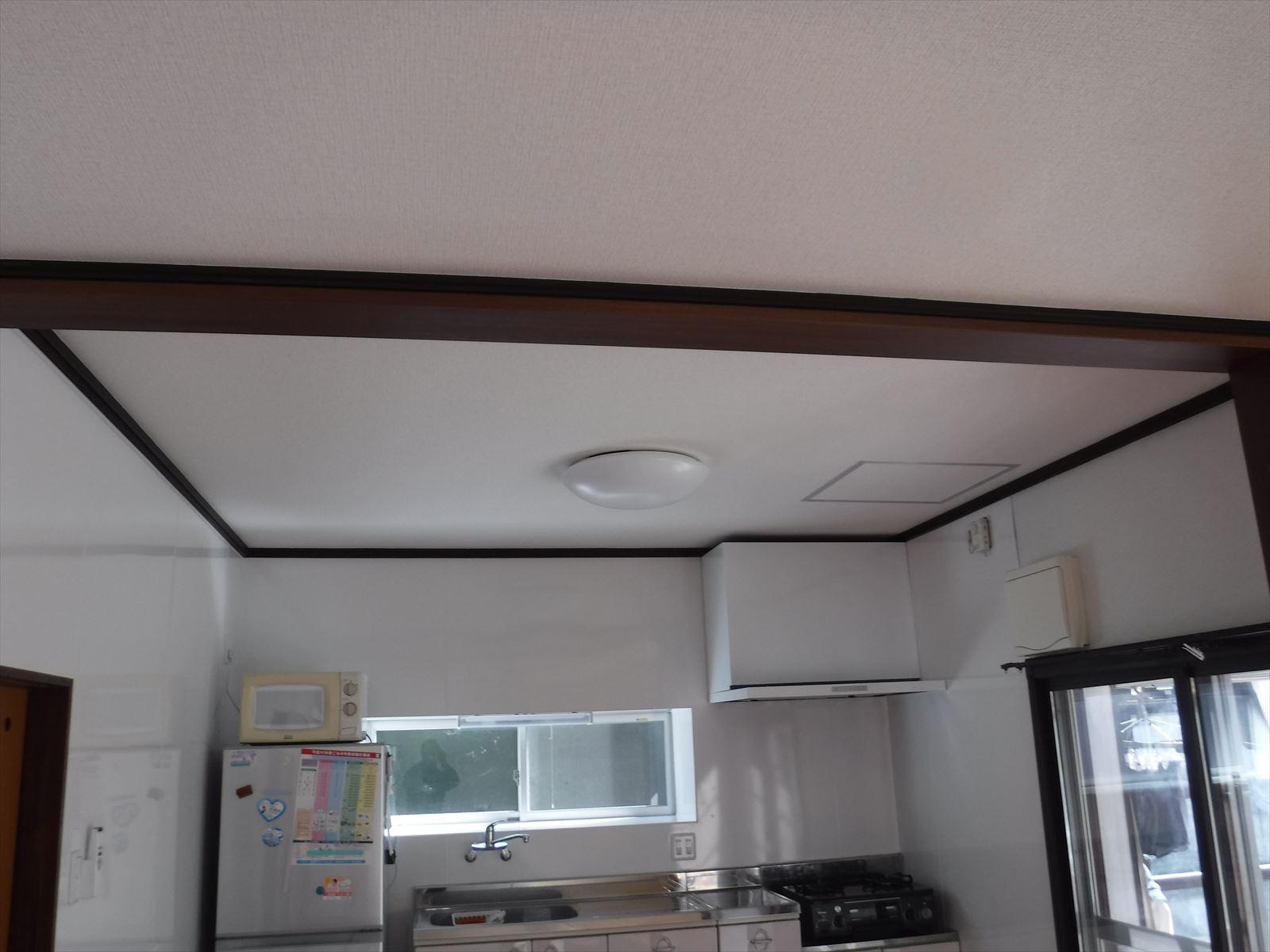 この家で暮らしていくしか・・・天井