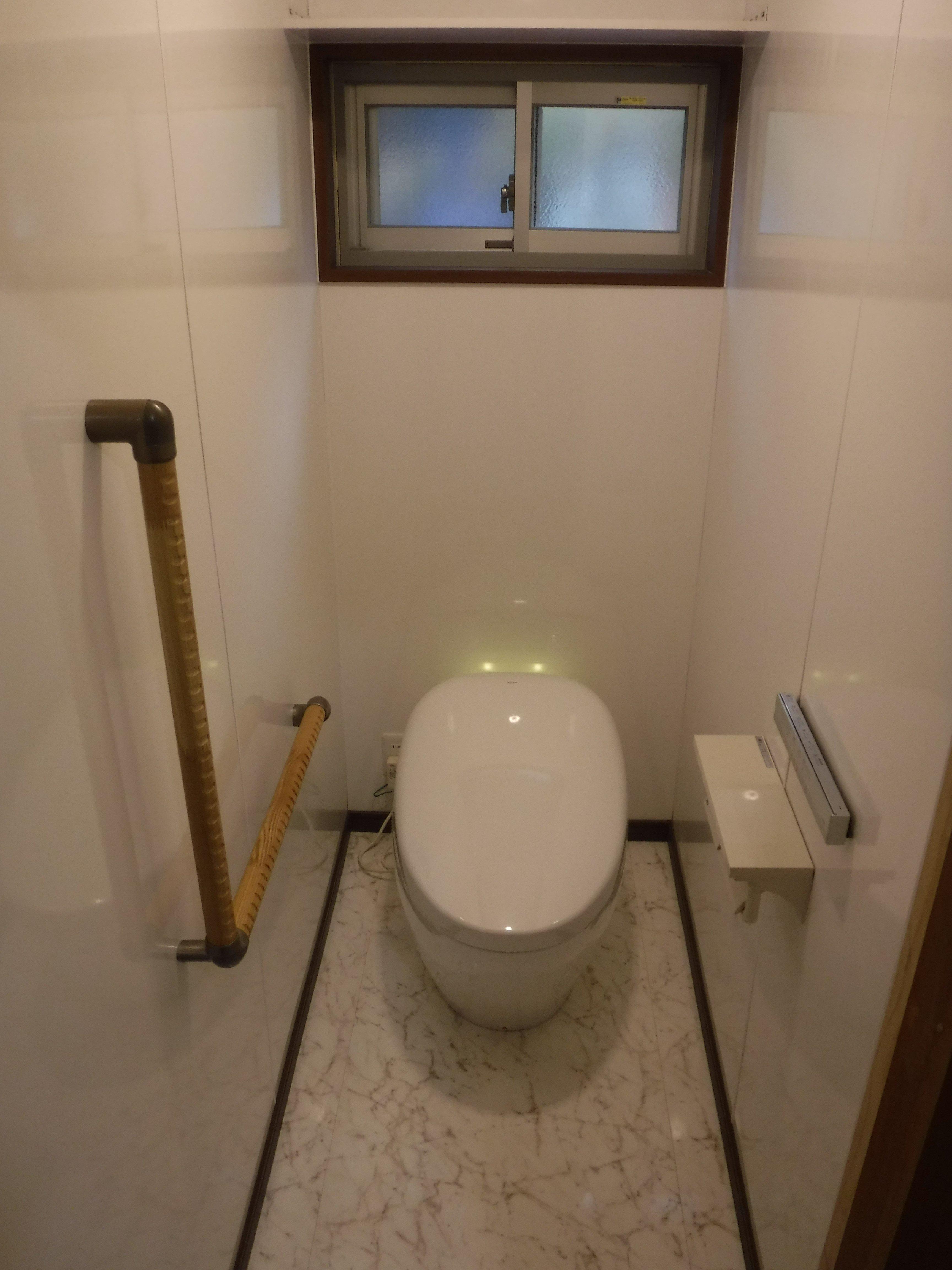 この家で暮らしていくしか・・・トイレ ネオレストNX