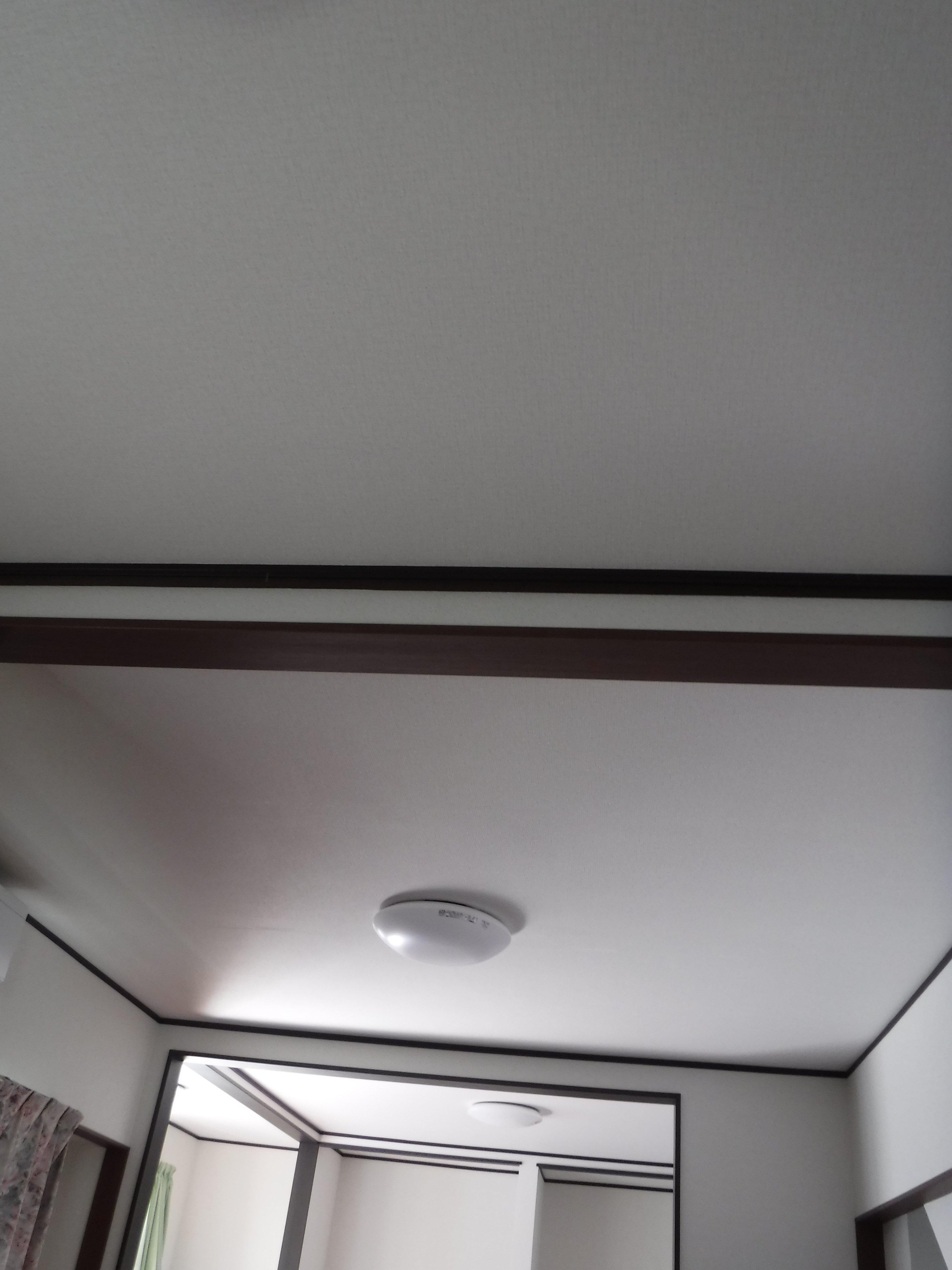 この家で暮らしていくしか・・・更に超拡大 天井