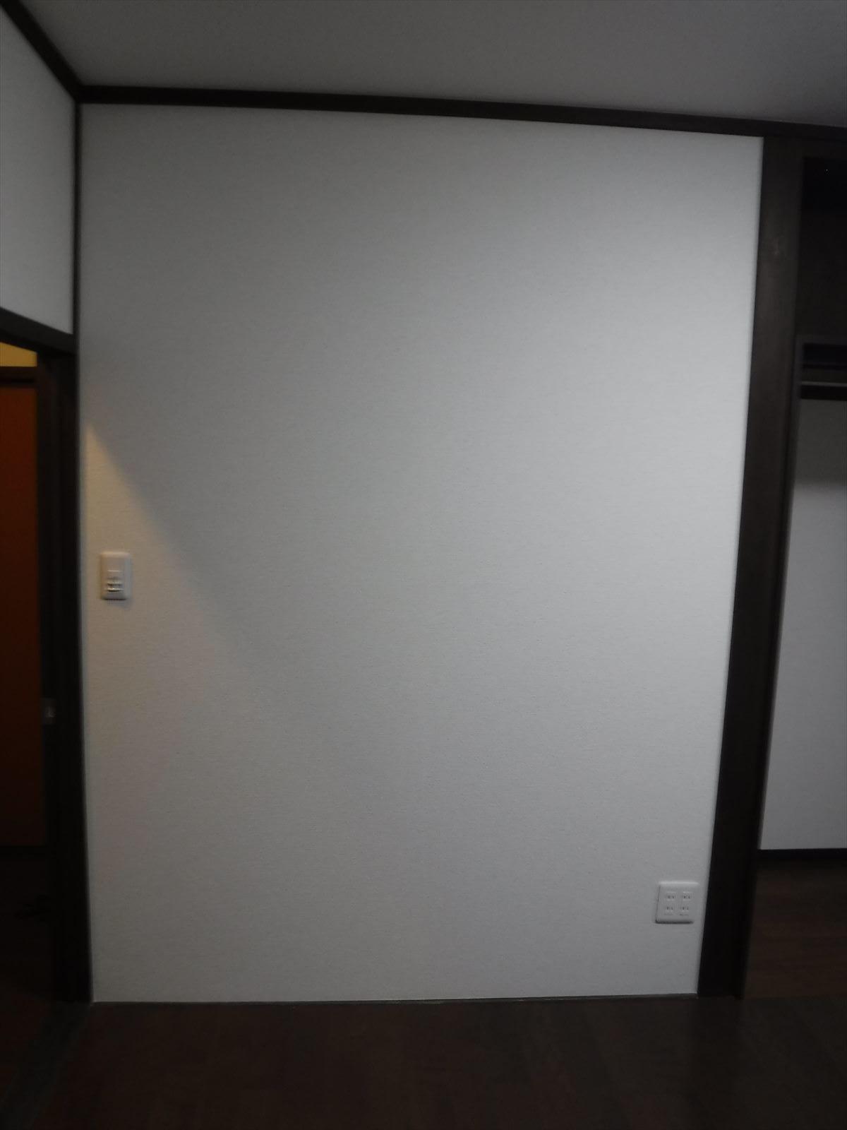 この家で暮らしていくしか・・・6畳和室⇒物入れ変更1(壁に)