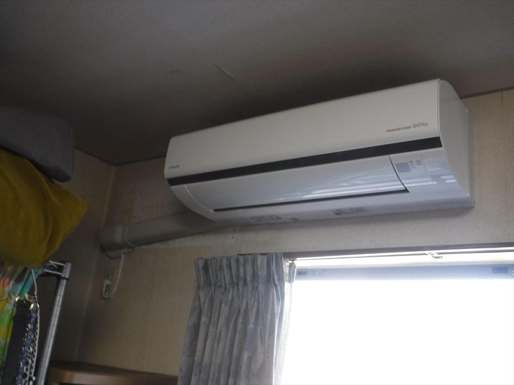 エアコン3台 ステンレス基盤の日立製がいいです♪子供部屋6畳