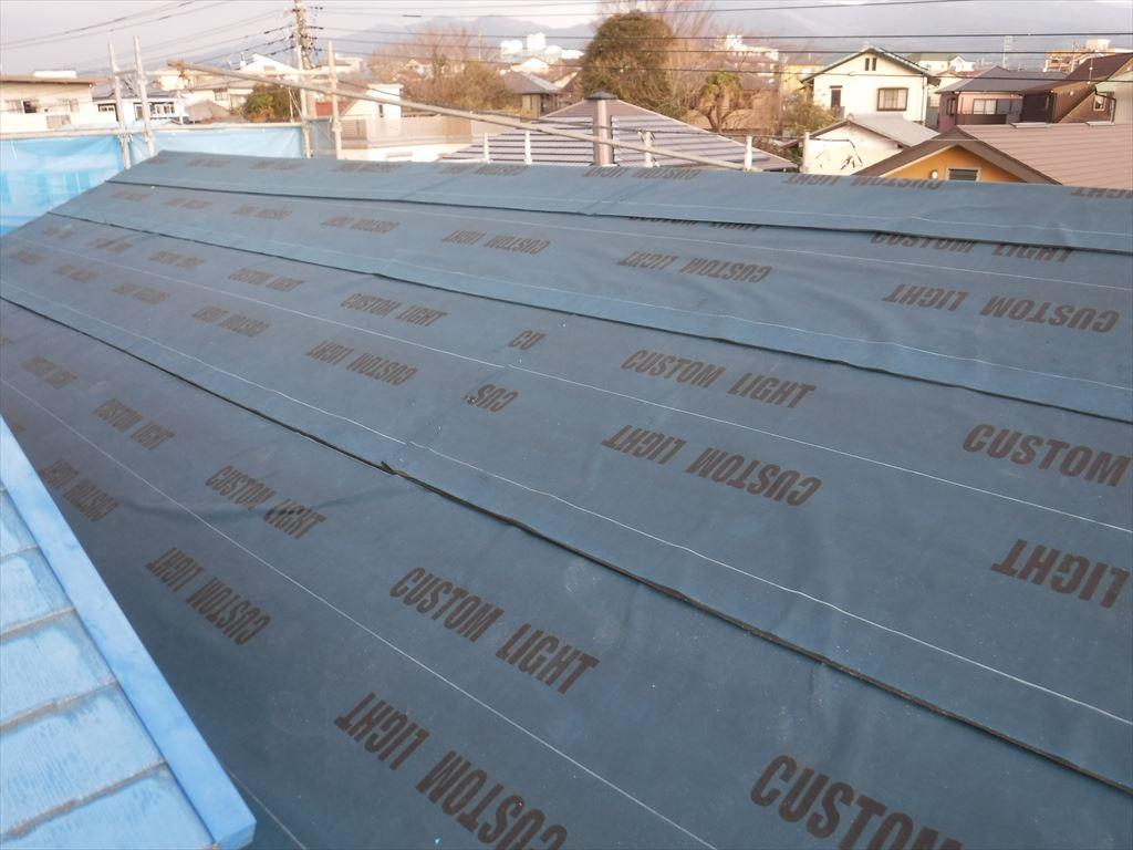 工場外装補修工事 屋根下地補修