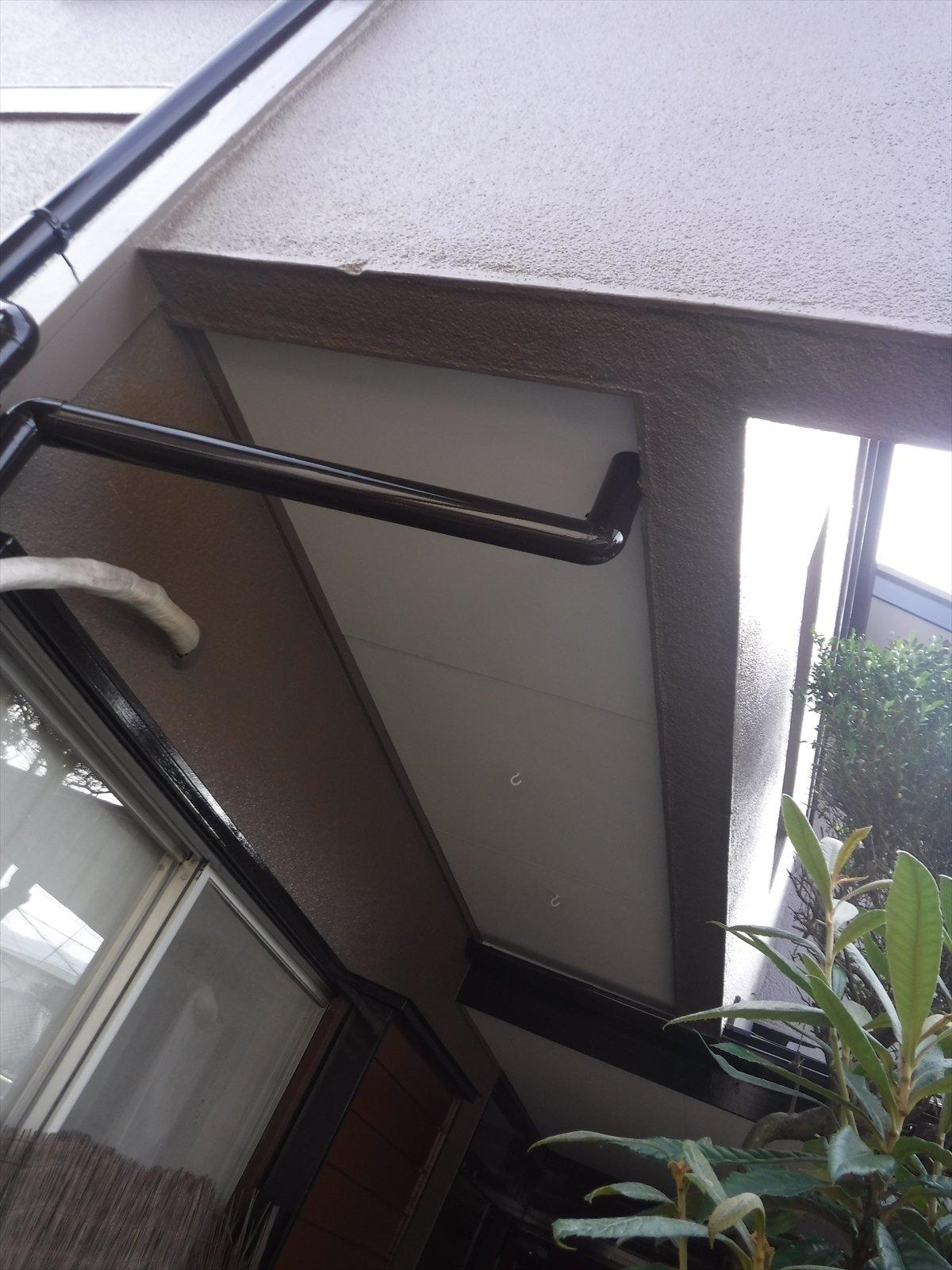 リフォームのひろばで2度目の塗装 軒天塗装