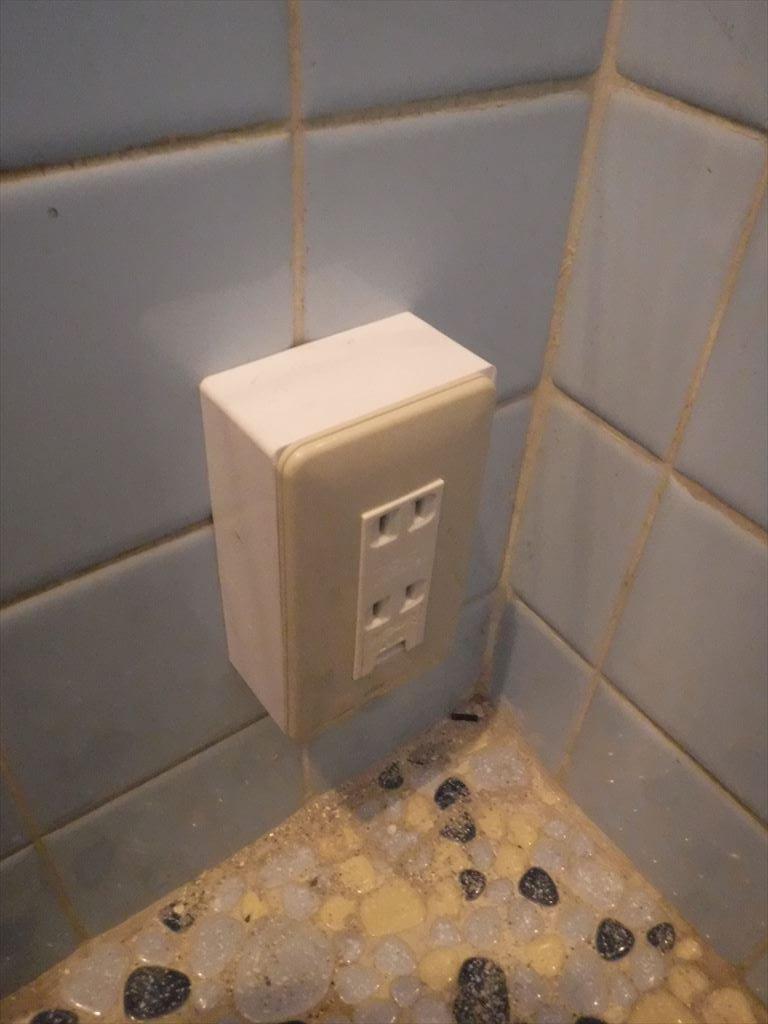 20年前からトイレ工事を検討しておりました。コンセント取付