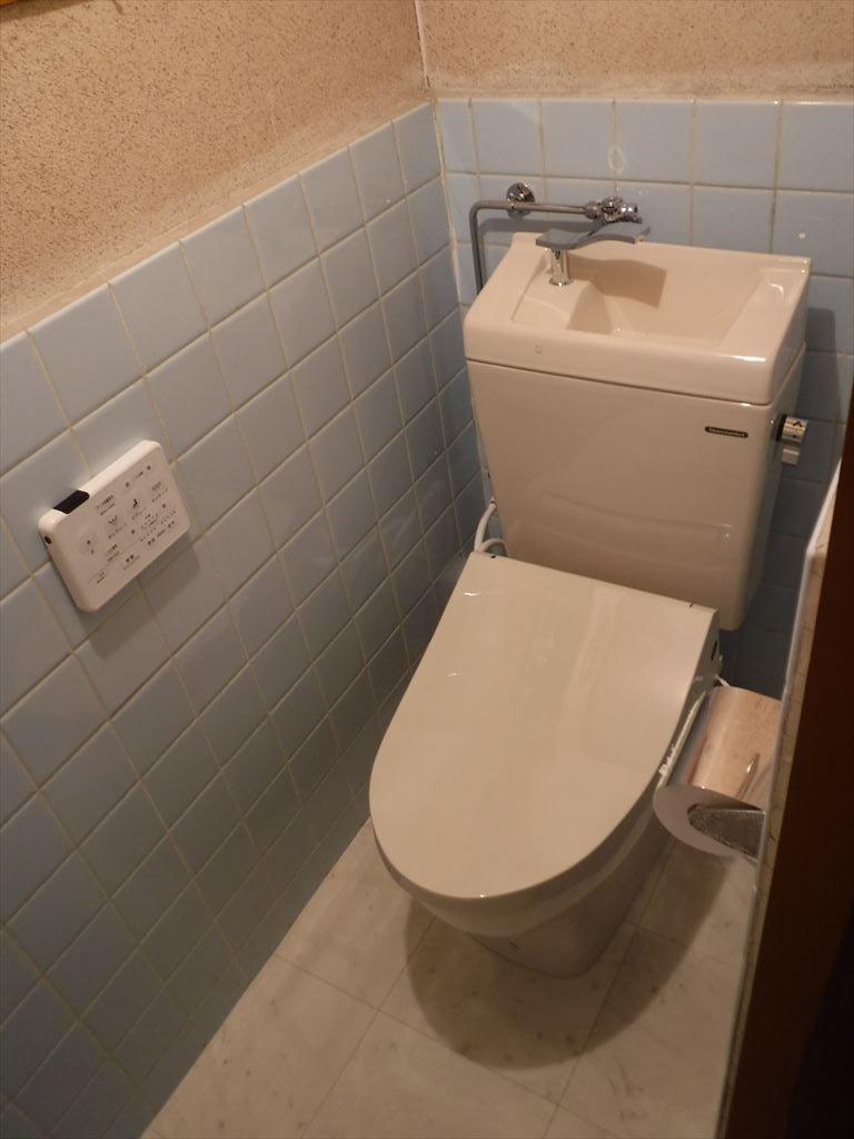 20年前からトイレ工事を検討しておりました。