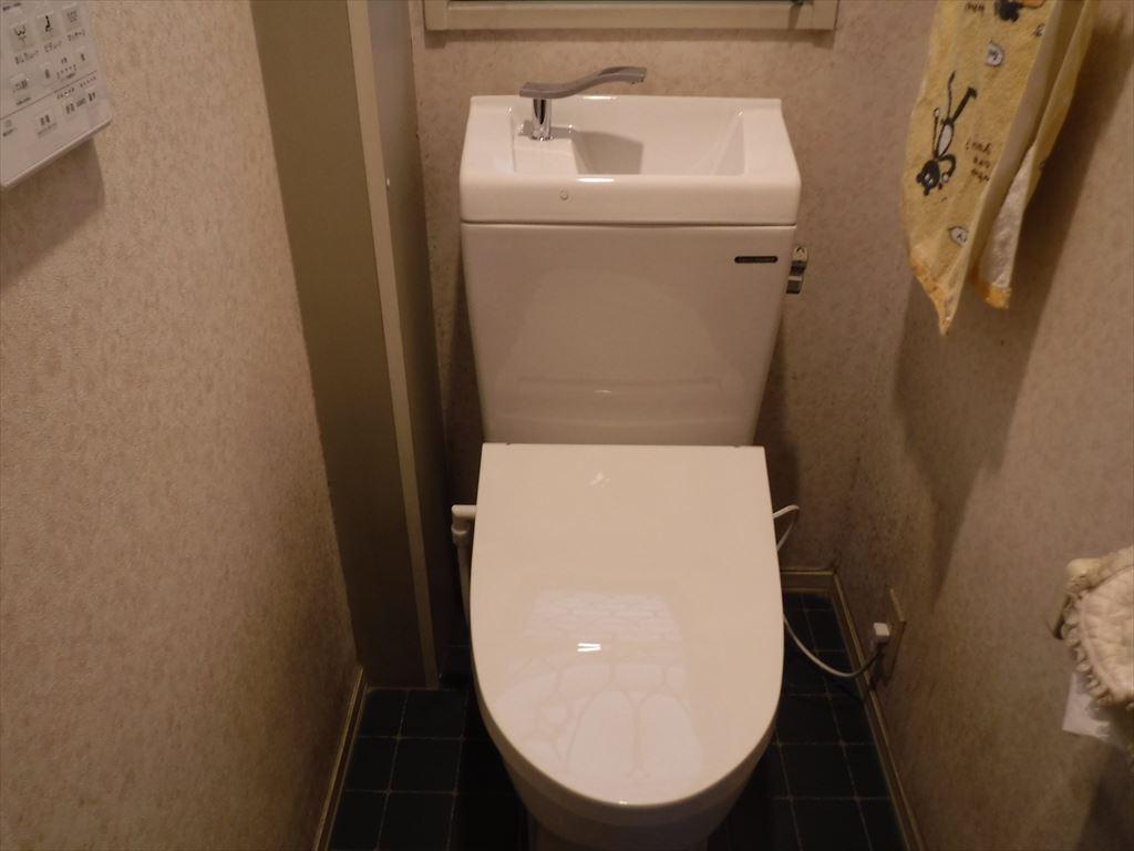それなら1Fのトイレも取替えてもらおうかな!
